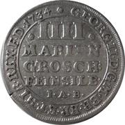 4 Mariengroschen - George II – obverse
