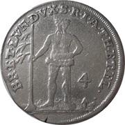 4 Mariengroschen - George II – reverse