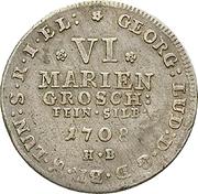 6 Mariengroschen - George Ludwig – obverse