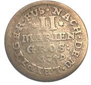 2 Mariengroschen - Georg II. – reverse
