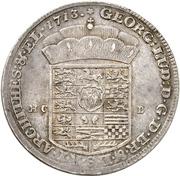 1 Thaler - Georg I. Ludwig (Harz - Ausbeute) – obverse