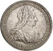 1 Thaler - Georg I. Ludwig (Death of Sophia von der Pfalz) – obverse