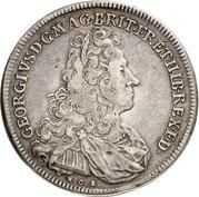 1 Thaler - Georg I. Ludwig – obverse