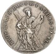 1 Thaler - Georg I. Ludwig (Harz Ausbeute) – reverse