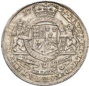 1 Thaler - Georg II. August – reverse