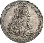 1 Thaler - Georg I. Ludwig (Death of Georg I. Ludwig) – obverse