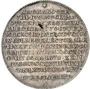 1 Thaler - Georg I. Ludwig (Death of Georg I. Ludwig) – reverse