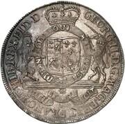 1 Thaler - Georg II. – obverse