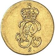 ¼ Ducat - Georg II. – obverse