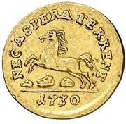 ¼ Ducat - Georg II. – reverse