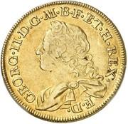 4 Goldgulden - Georg II. – obverse