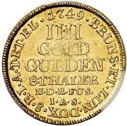 4 Goldgulden - Georg II. – reverse
