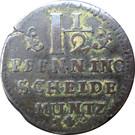 1½ Pfenning - Georg II. Wilhelm – reverse
