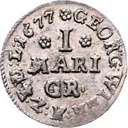 1 Mariengroschen - Georg Wilhelm – obverse
