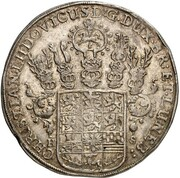 1 Thaler - Christian Ludwig ( Death of Christian Ludwig) – obverse