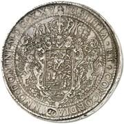 10 Thaler - Christian Bischof von Minden (Löser) – reverse
