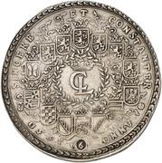 6 Thaler - Christian Ludwig – obverse