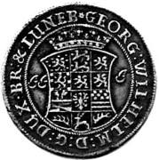 ⅓ Thaler - Georg II Wilhelm – obverse