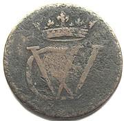 1½ Pfennig - Georg II. Wilhelm – obverse