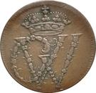 1½ Pfennig - Georg II Wilhelm – obverse