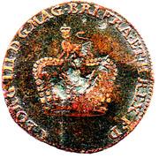 George III Token (Brunswick-Luneburg) – obverse