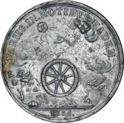 Medal - Visit of Ernst August in Hannover – reverse