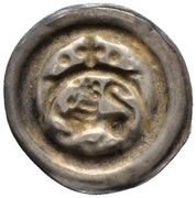 1 Brakteat - Otto IV. – reverse