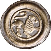 1 Brakteat - Heinrich der Löwe (Lüneburg) – reverse