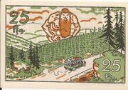 25 Pfennig (Kraftverkehrsgesellschaft) – reverse