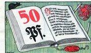 50 Pfennig (Volksbibliothek und Lesestuben) – obverse