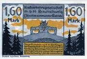 1.60 Mark (Kraftverkehrsgesellschaft) – obverse