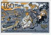 1.60 Mark (Kraftverkehrsgesellschaft) – reverse