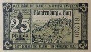 25 Pfennig (Blankenburg am Harz) – obverse