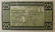 25 Pfennig (Blankenburg am Harz) – reverse