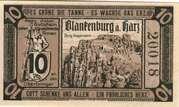 10 Pfennig (Blankenburg am Harz) – obverse