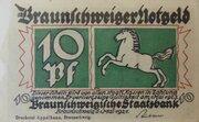 10 Pfennig (Braunschweigische Staatsbank) – obverse