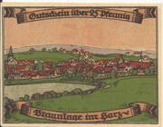 25 Pfennig (Braunlage) – reverse