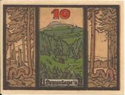 10 Pfennig (Braunlage) – reverse