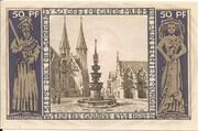 50 Pfennig (Braunschweigische Staatsbank) – reverse