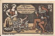 75 Pfennig (Braunschweigische Staatsbank) – reverse