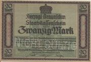 20 Mark (Staatskassenschein) – obverse