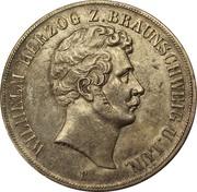 2 Thaler / 3½ Gulden - Wilhelm – obverse