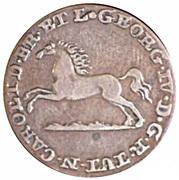 2 Pfenning - George IV Regent of Karl – obverse