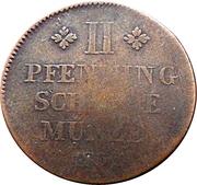 2 Pfenning - Wilhelm – reverse