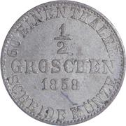 ½ Groschen - Wilhelm – reverse