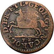 1 Pfennig - George IV. – obverse