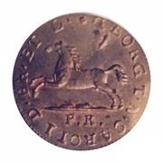 1 Pfenning - George IV Regent of Karl II – obverse