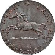1 Pfenning - Karl II – obverse