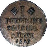 1 Pfenning - Wilhelm – reverse