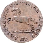 2 Pfennige - Karl II. – obverse
